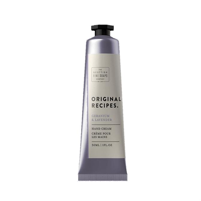 The Scottish Fine Soaps Co. Geranium & Lavender Hand Cream 30ml