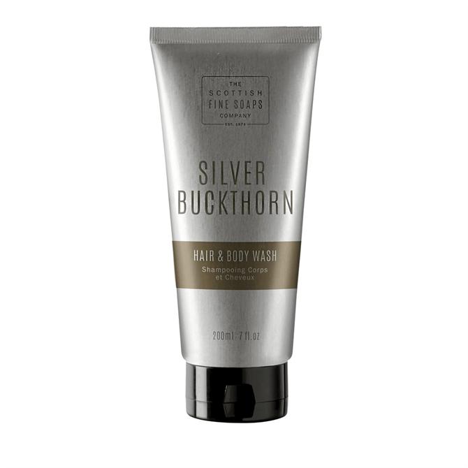The Scottish Fine Soap Co. Silver Buckthorn Hair & Body Wash Tube 200ml