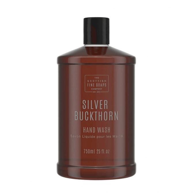 The Scottish Fine Soap Co. Silver Buckthorn Hand Wash Refill 750ml