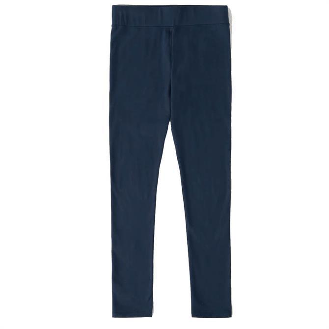 Seasalt Sea Dance Midnight Blue Organic Cotton Leggings