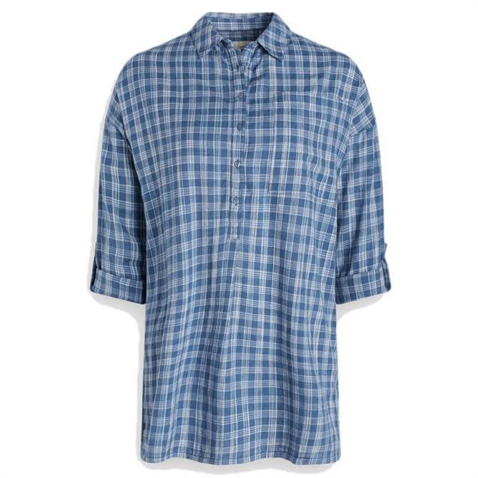 Seasalt Arts and Crafts Yarn-Dyed Check Shirt