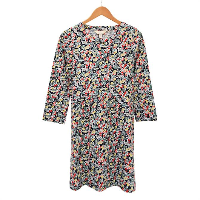 Seasalt Early Boat Vintage Floral Print Tunic