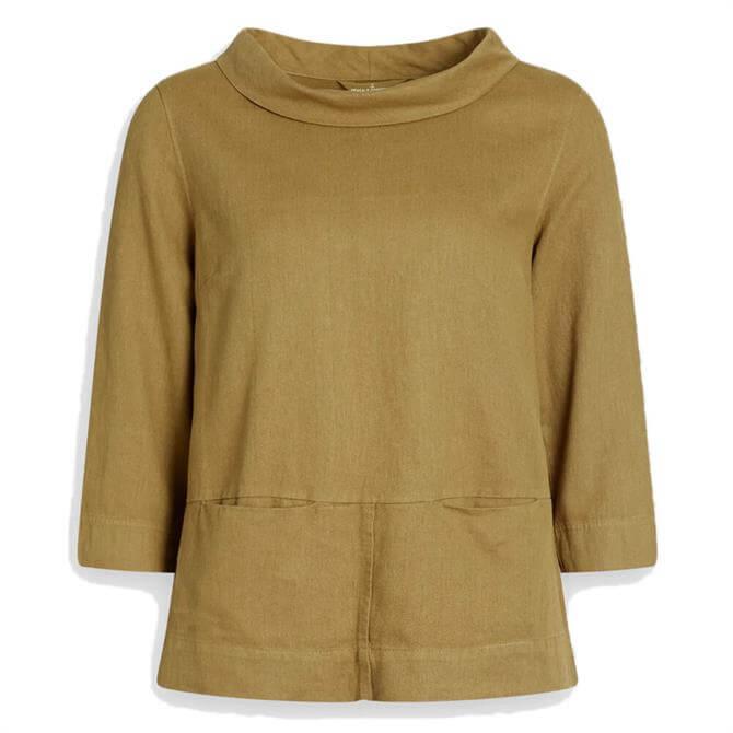 Seasalt Polarising Linen Cotton Twill Top