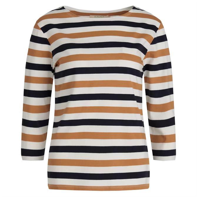 Seasalt Sailor Striped Organic Cotton Top
