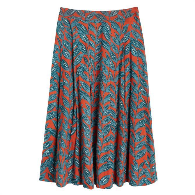 Seasalt Sea Mist Printed Skirt
