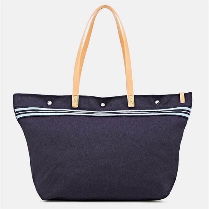 Esprit Calista Canvas Navy Shopper Bag
