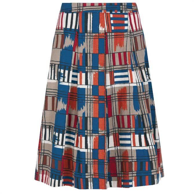 Seasalt Photo Album Patterned Skirt
