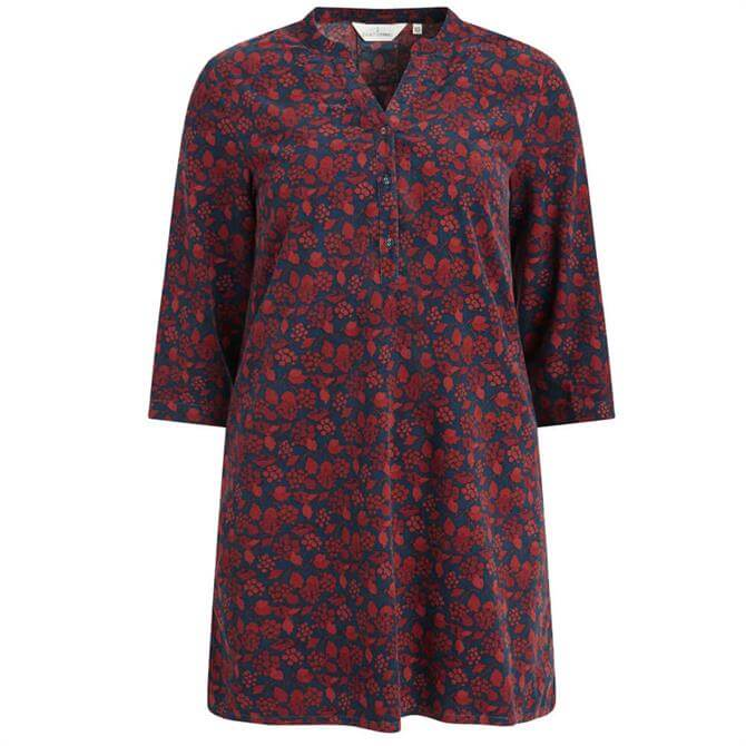 Seasalt South Terrace Floral Needlecord Tunic