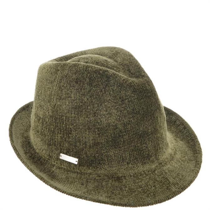 Seeberger Chenille Trilby Hat