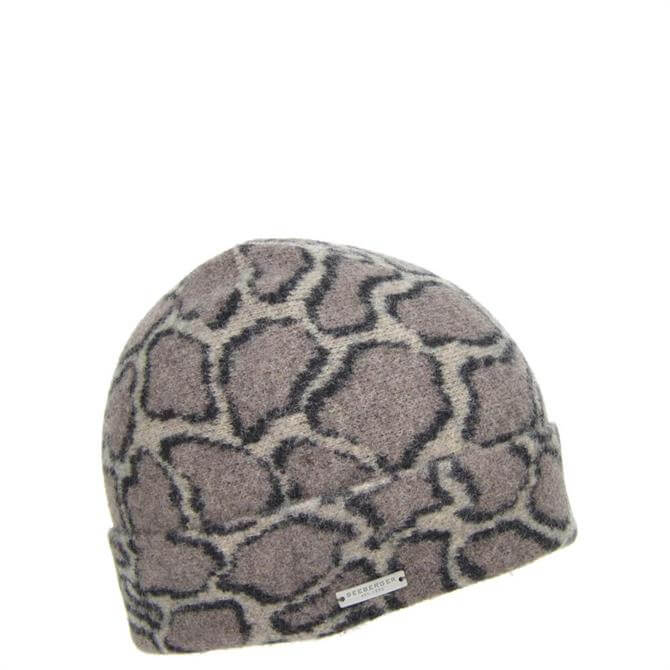 Seeberger Boiled Wool Camouflage Beanie