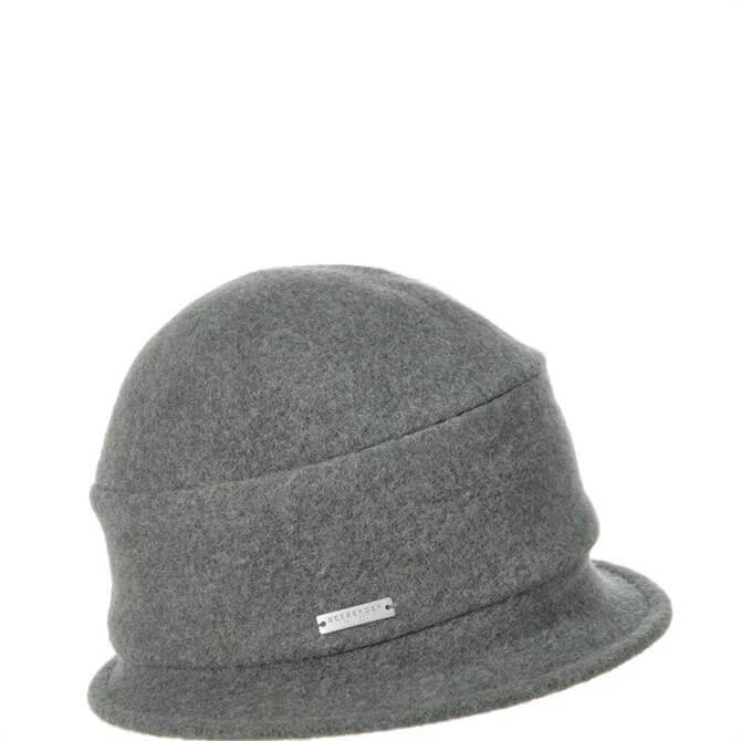 Seeberger Bolied Wool Cloche Hat