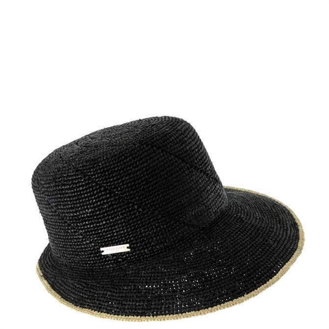 Seeberger Raffia Crochet Cap