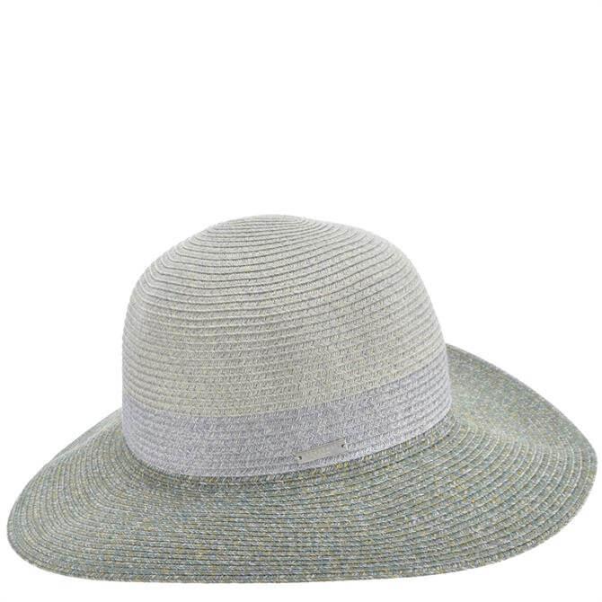 Seeberger Floppy Striped Hat