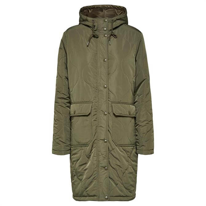 Selected Femme Marisa Quilted Jacket