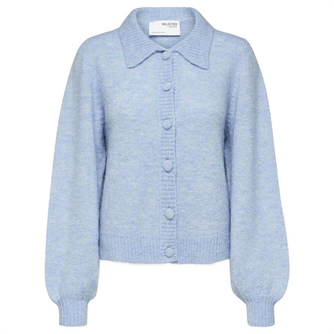 Selected Femme Louisa Knit Polo Cardigan