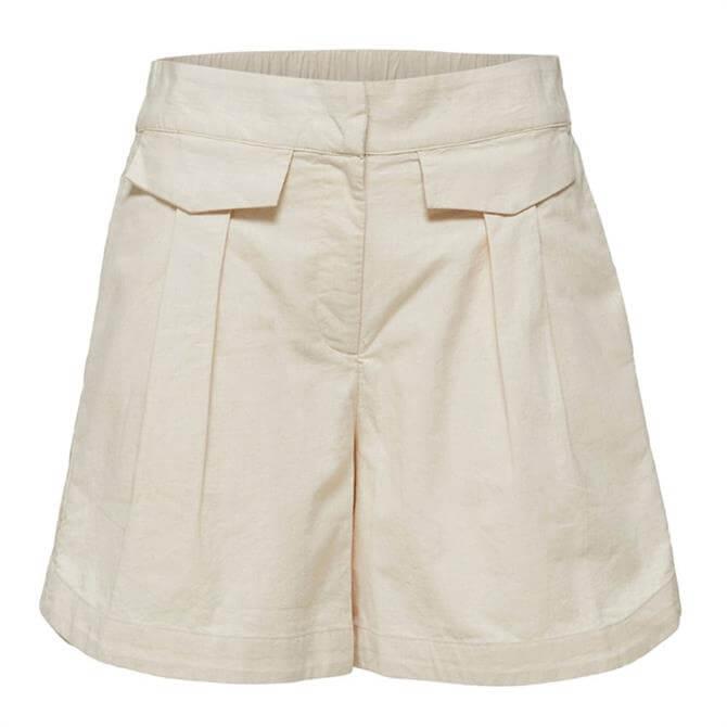 Selected Femme Cecilie Linen Shorts