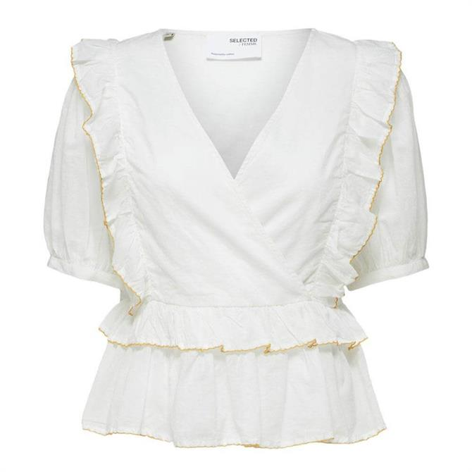 Selected Femme Duffy Frill Top