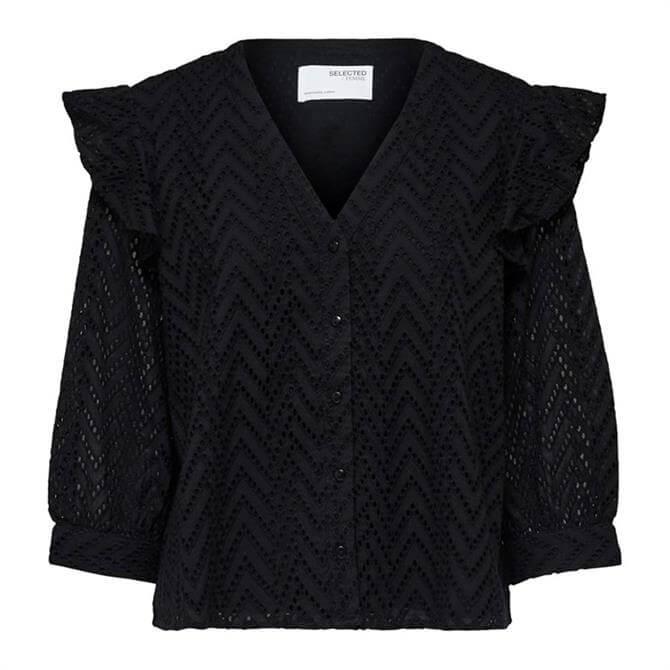 Selected Femme Josa Frill Shirt
