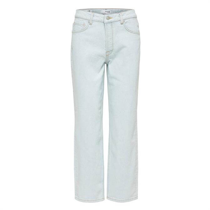 Selected Femme Kate Straight Fit Jeans