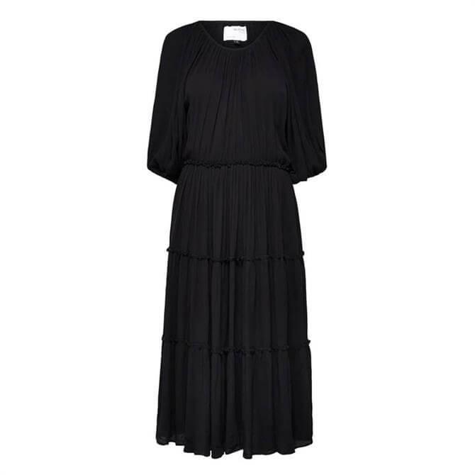 Selected Femme Minora Vienna Tiered Midi Dress