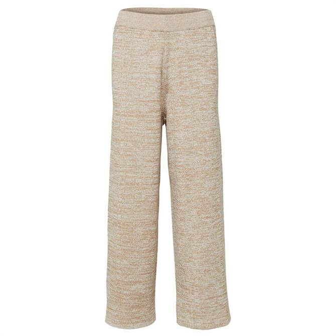 Selected Femme Cropped Knitted Trousers