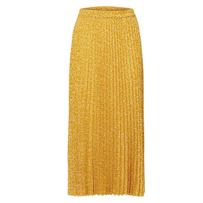 Selected Femme Alexis Pleated Midi Skirt
