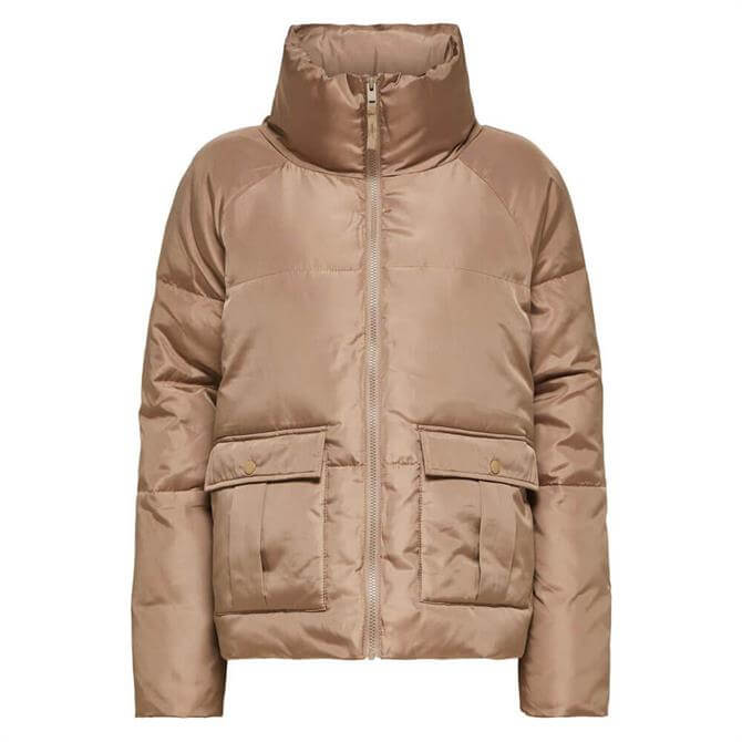 Selected Femme Dasa Recycled Polyester Short Padded Jacket