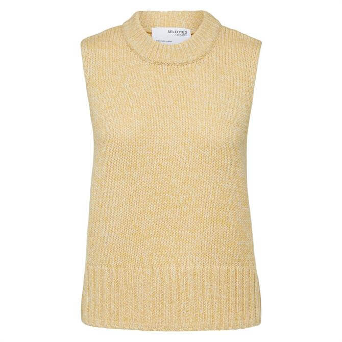 Selected Femme Jeanette Sleeveless Round  Neck Sweater