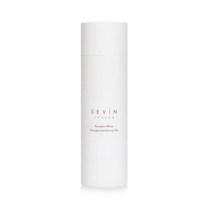 Sevin London Shampoo & Shower Gel 200ml – Porcelain White