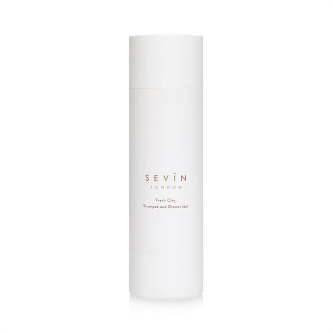 Sevin London Shampoo & Shower Gel 200ml – Fresh Clay