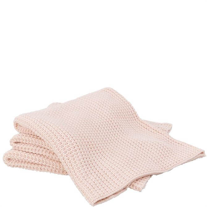 Sheridan Haden Soft Pink Throw