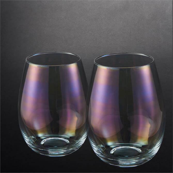 Simply Home Lustre Set of 4 Tumbler Glasses