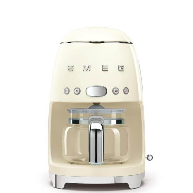 Smeg Cream Drip Filter Coffee Machine