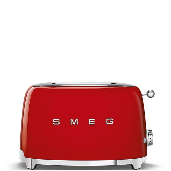 Smeg Red 2 Slice Toaster