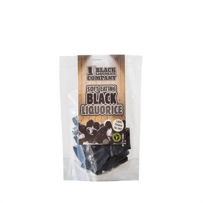 Soft Eating Black Liquorice 180g