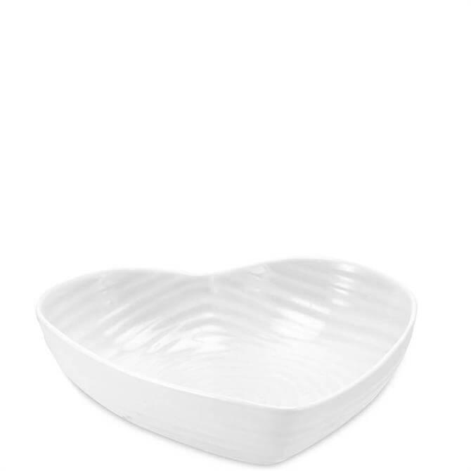Sophie Conran for Portmeirion White Large Heart Bowl