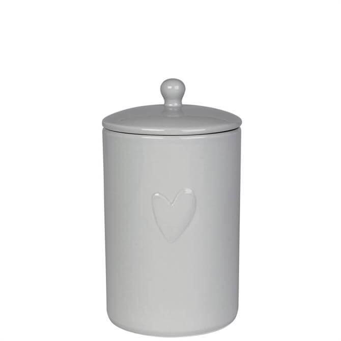 Sophie Allport Hearts Grey Storage Jar