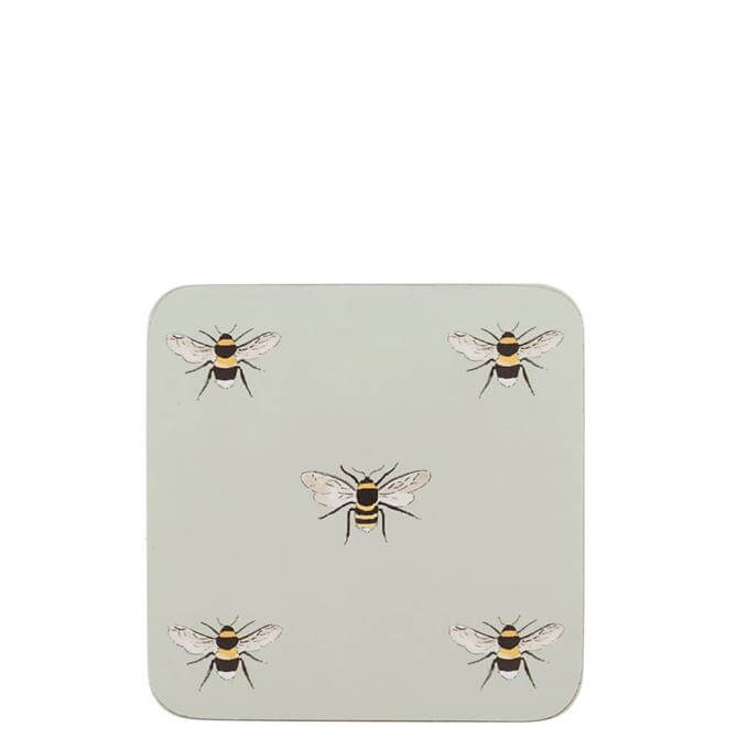 Sophie Allport Set of 4 Bees Coasters