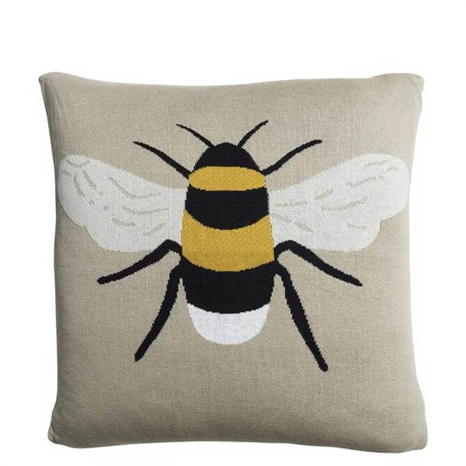 Sophie Allport Bees Knitted Cushion