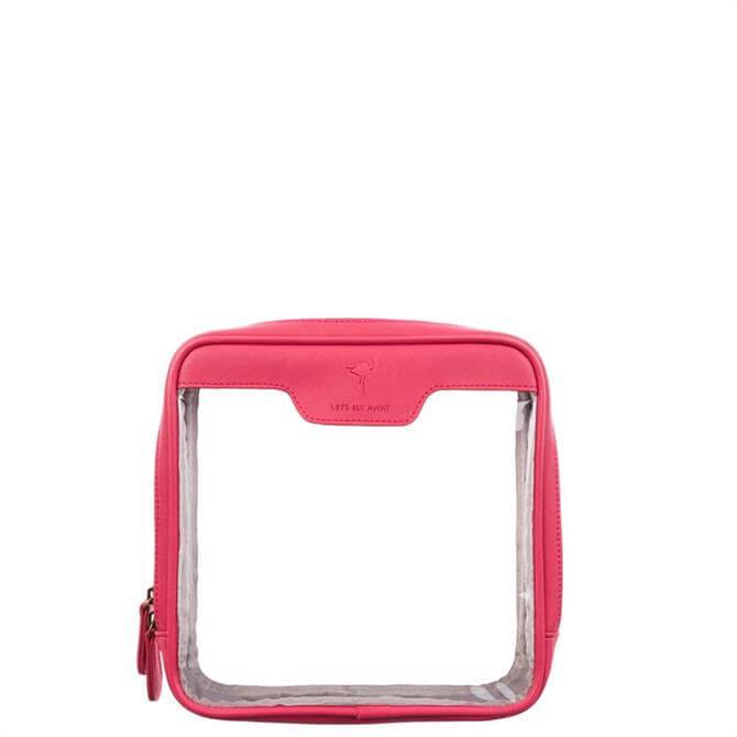 Sophie Allport Flamingo Travel Wash Bag