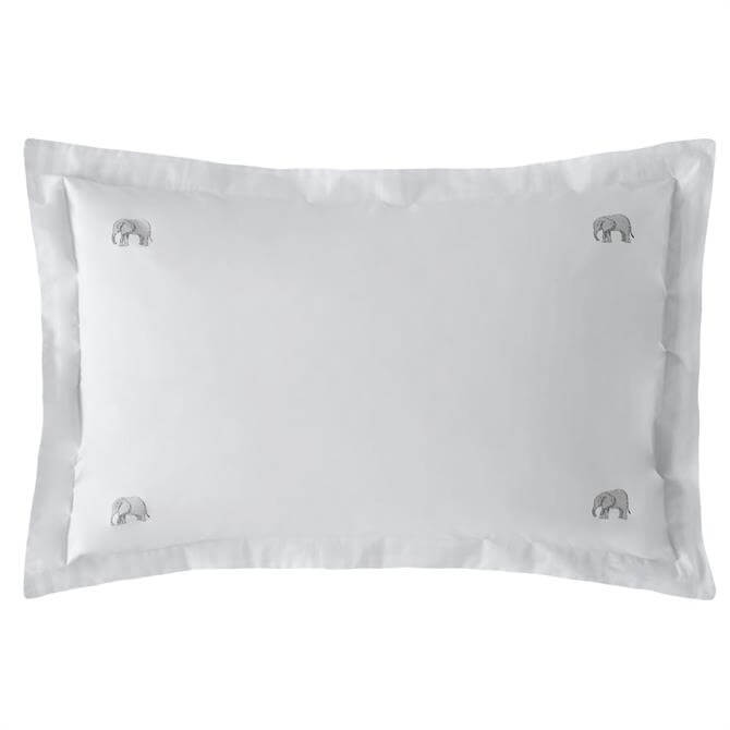 Sophie Allport Elephant Pair of Oxford Pillowcases