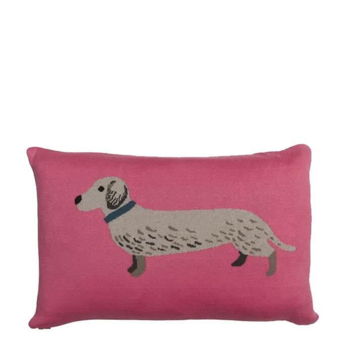Sophie Allport Dachshund Knitted Cushion