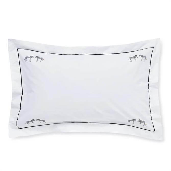 Sophie Allport Zebra Pair of Oxford Pillowcases
