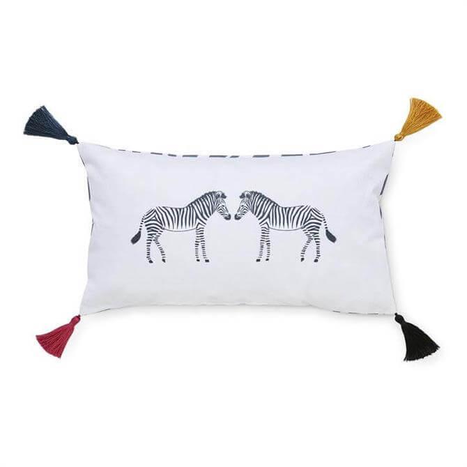 Sophie Allport Zebra Decorative Cushion