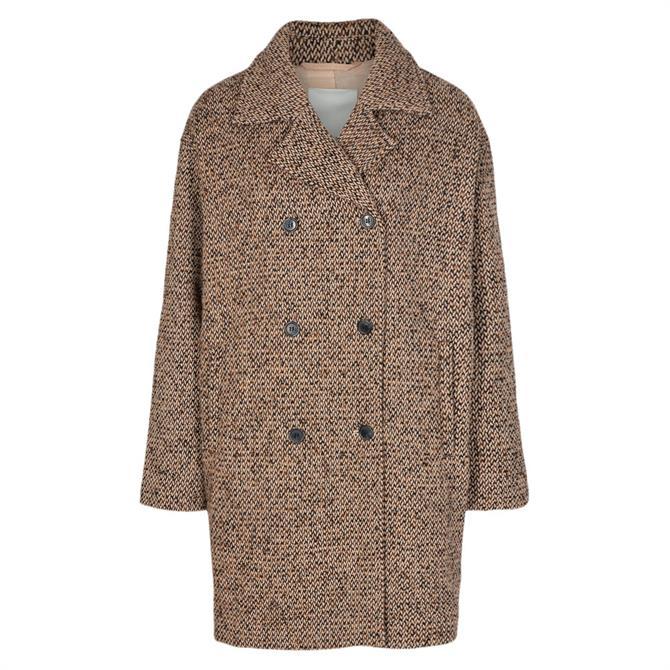 Soyaconcept Karla Textured Oversized Coat