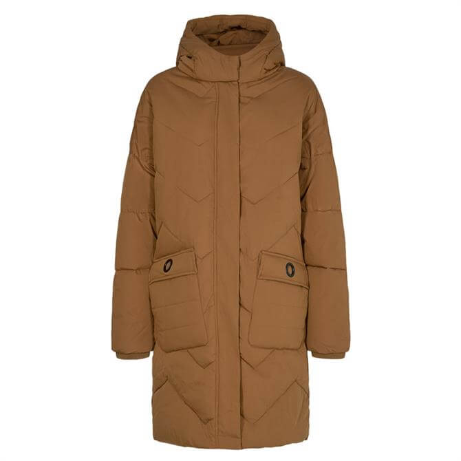 Soyaconcept Milka Quilted Hooded Coat
