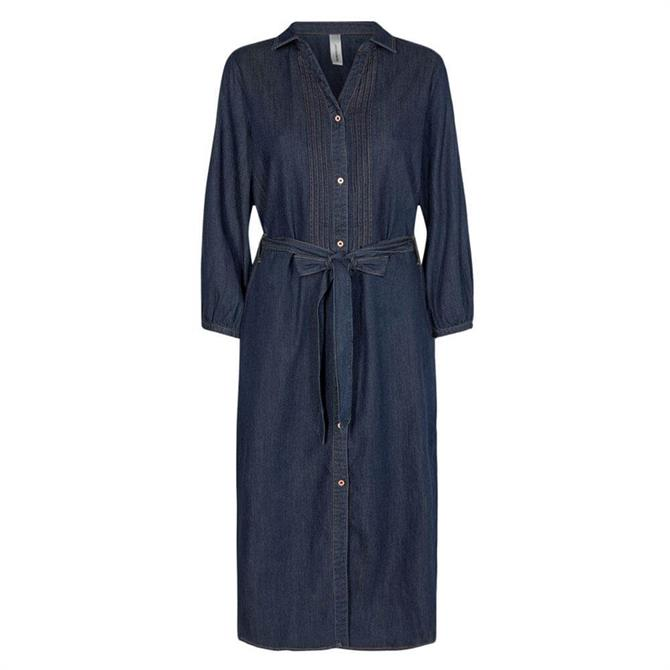 Soyaconcept Killa Denim Shirt Dress