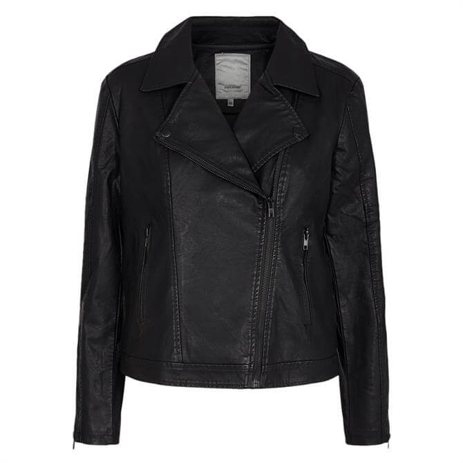Soyaconcept Gunilla Faux Leather Jacket