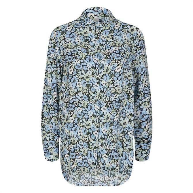 Soya Concept Oaklyn Meadow Floral Print Shirt
