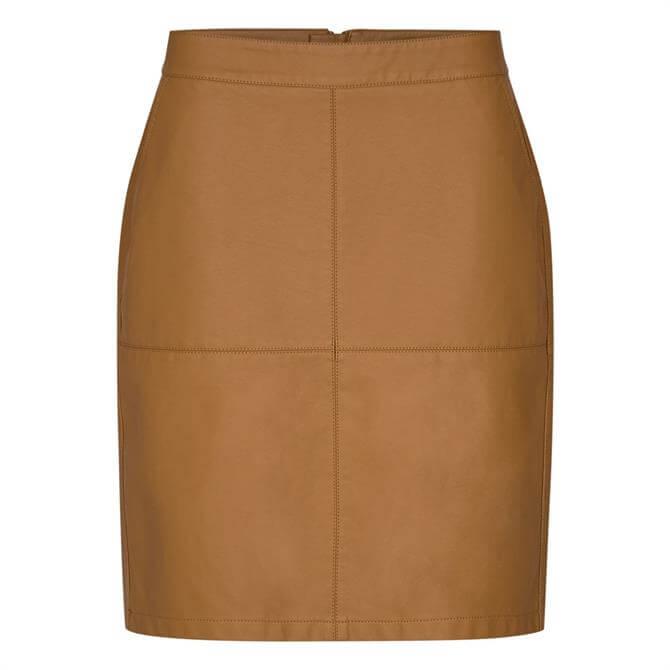 Soyaconcept Amalie Faux Leather Skirt